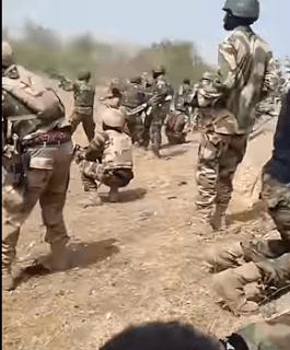 Nigerian Army Engages Boko Haram Terrorists In Fierce Gun Battle – WATCH!